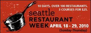 Courtesy: Seattle Restaurant Week