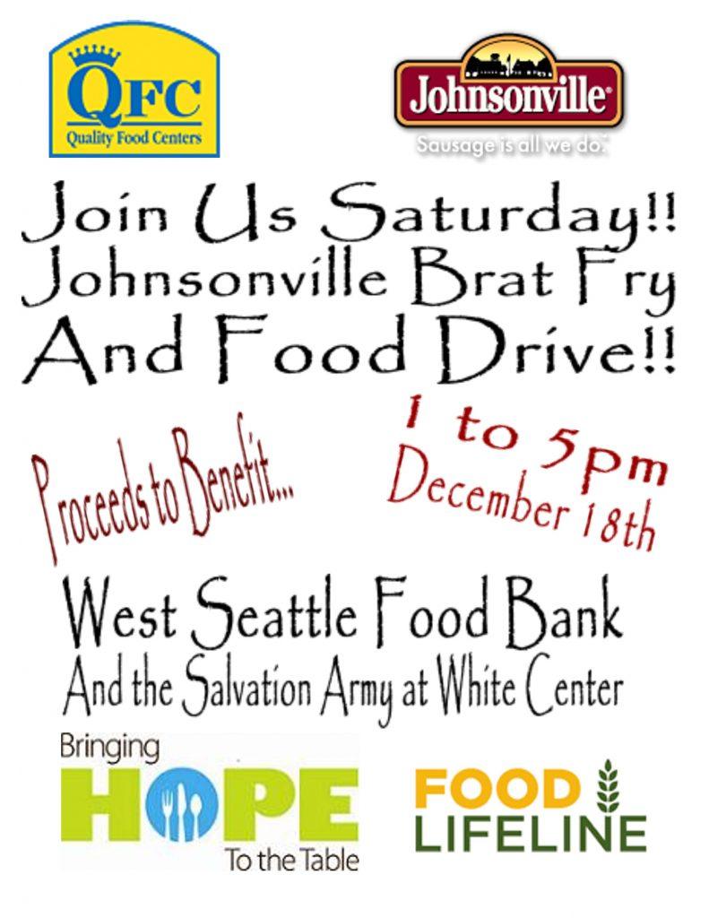 Seattle Food Bank Saturday