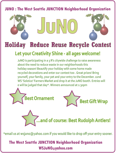 JuNO Holiday Contest