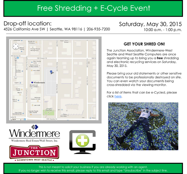 Shredding Event 2015