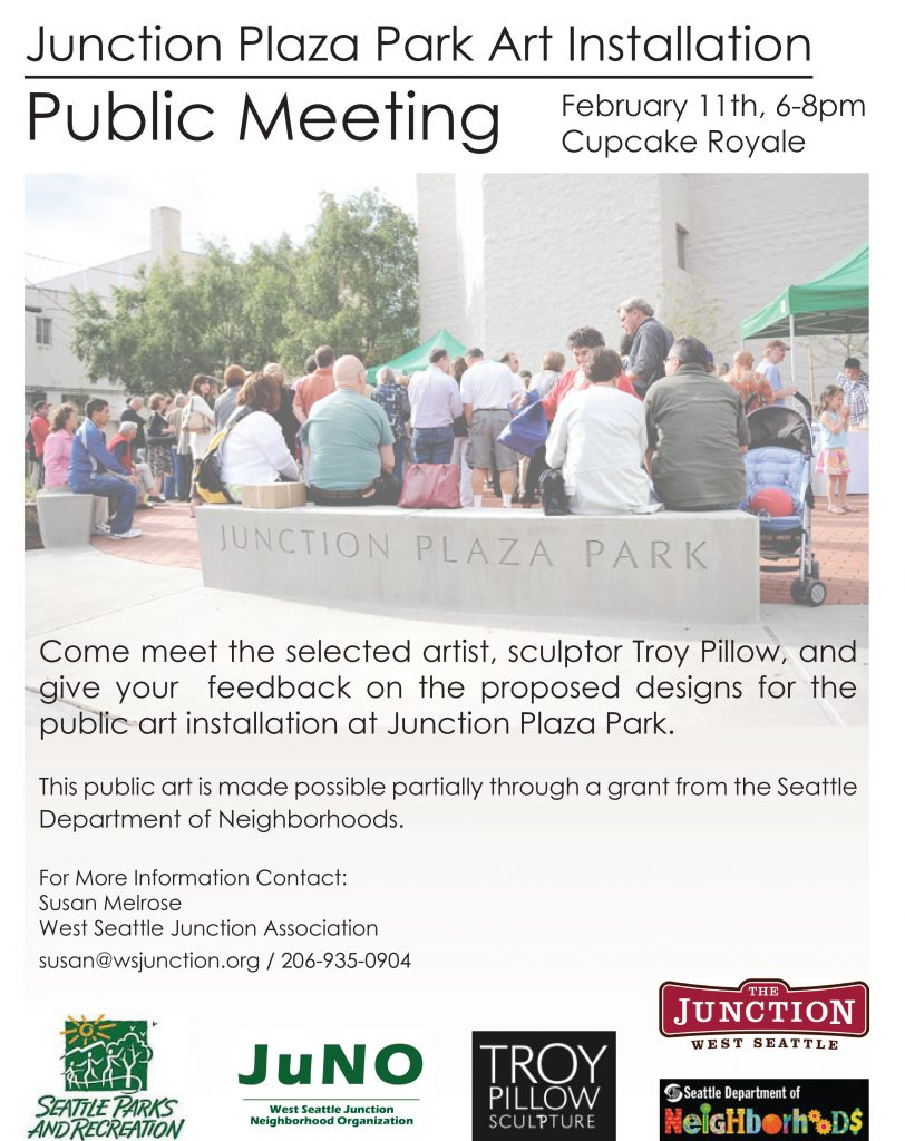 Junction Plaza Park Public Art Open House