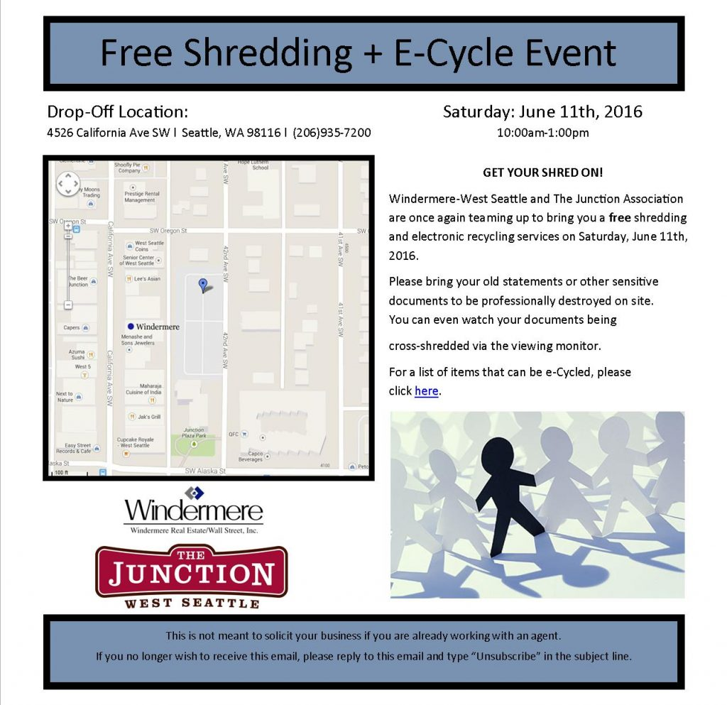 Shredding Event 2016