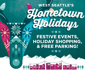 Hometown Holidays Shopping and Events in the West Seattle