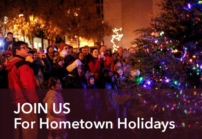 Hometown Holidays Tree Lighting
