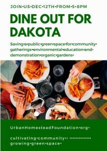 Dine out for Dakota West Seattle Junction