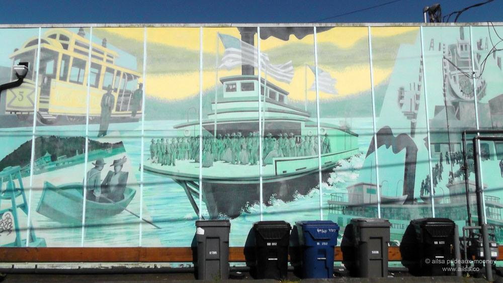 Murals of West Seattle