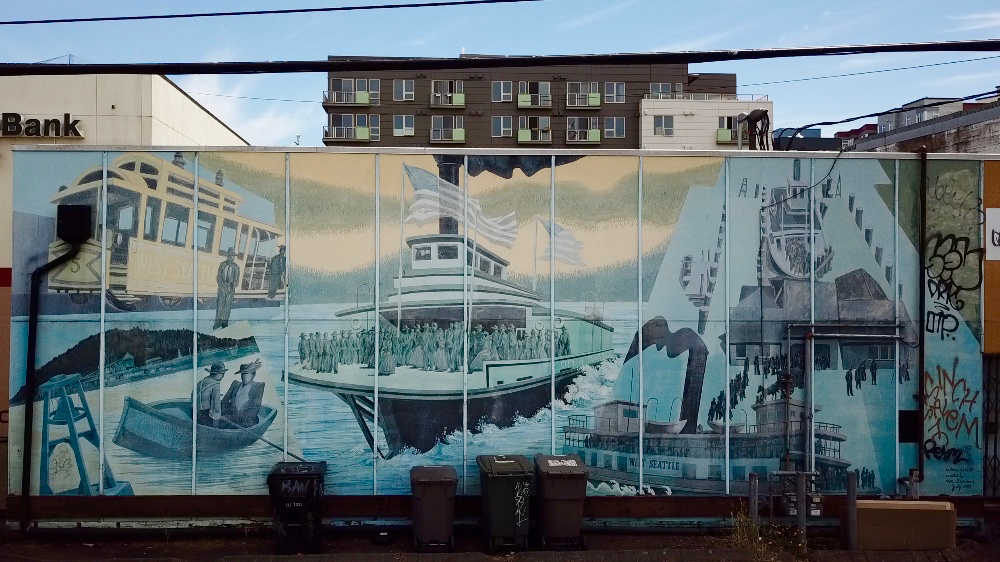 West Seattle Junction Mural Restoration Fundraiser - West